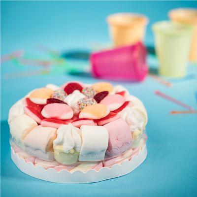 Cadeau anniversaire Femme - Gâteau de Bonbons