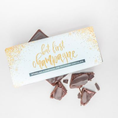 Cadeau d'adieu - Chocolat Framboise Champagne