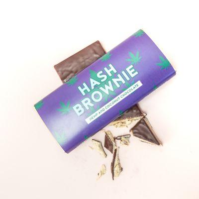 Idées cadeaux pour mettre dans le calendrier de l'avent - Chocolat Brownie Haschich
