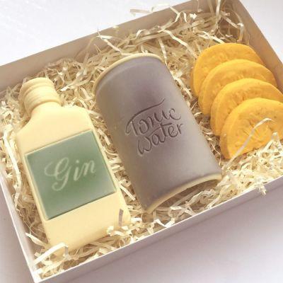 Cadeau papa - Gin Tonic en Chocolat