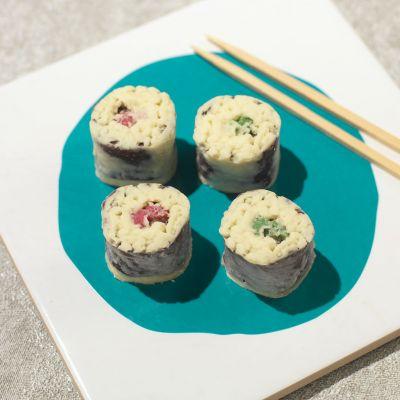Cadeau romantique - Chocolats Sushi