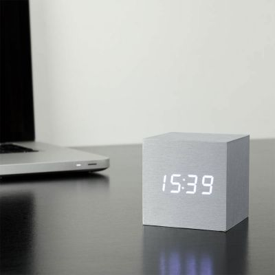 Réveils & Montres - Cube Click Clock