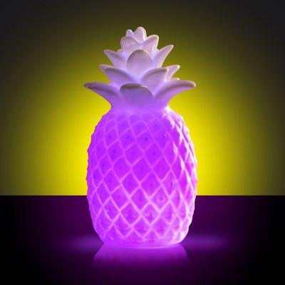 Cadeau bachelier - Lumière colorée Ananas