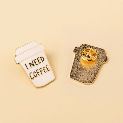 Accessoires - Pin's I Need Coffee