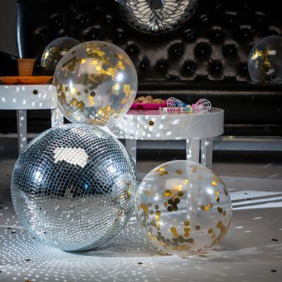 Cadeau maman - Ballons avec Confettis dorés