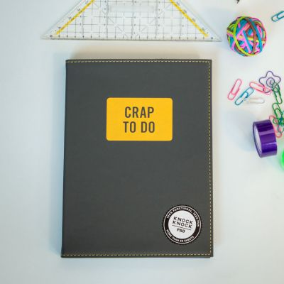 Fun au bureau - Bloc-notes - Crap To Do