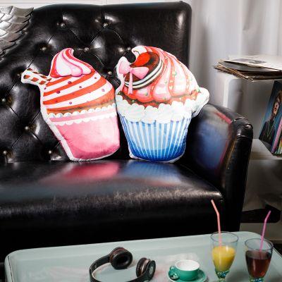 Cadeau crémaillère - Coussin Cupcake