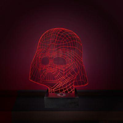 Films & Télévision  - Lampe Star Wars LED - Effet 3D