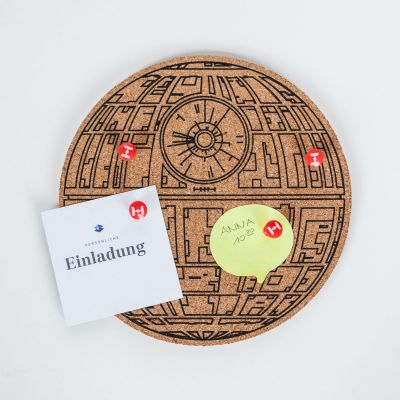 Fun au bureau - Pinboard Star Wars Death Star