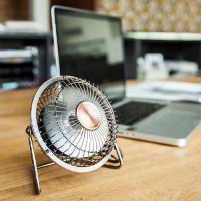 Ordinateur & Gadgets USB - Ventilateur de bureau USB en Bronze