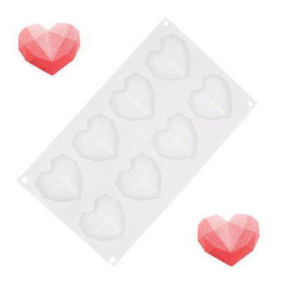 Idées cadeaux pour mettre dans le calendrier de l'avent - Moule en Silicone Mini Cœurs