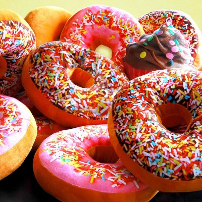 Cadeau pour la Saint Valentin - Coussin Donut