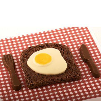 Cadeau Enfant - Bacon & Œuf au plat en Chocolat