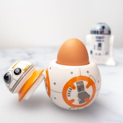L'univers Star Wars - Kit de 2 coquetiers Star Wars BB-8 & R2D2