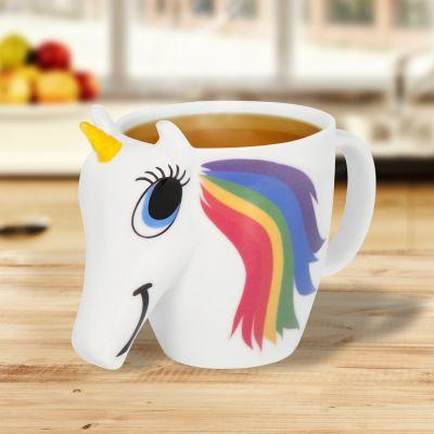 Verres & Mugs - Tasse Licorne qui change de couleurs