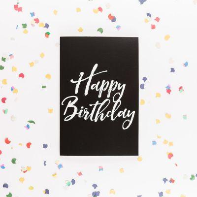 Cadeau Enfant - Carte d'anniversaire Forever