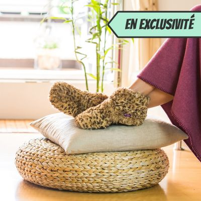 Homewear - Pantoufles chauffantes
