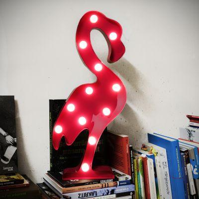 Éclairage - Lampe LED Flamant