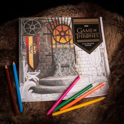 Films & Télévision  - Cahier de coloriages Game of Thrones