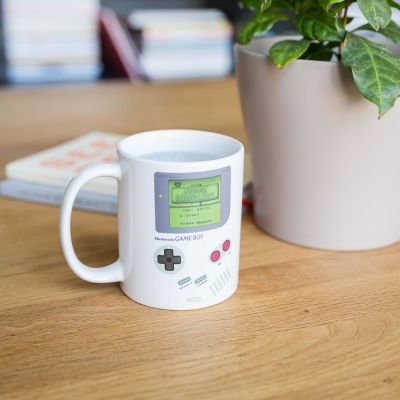 Cadeau homme - Tasse Game Boy thermosensible