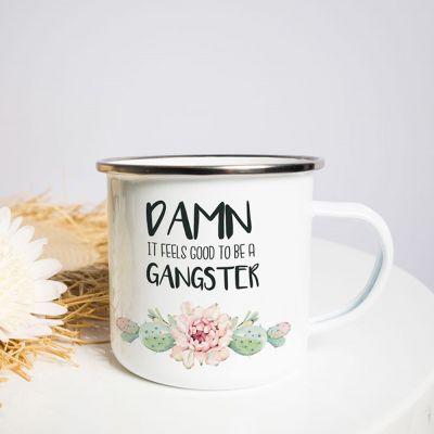 Cadeau romantique - Tasse Métal Gangster