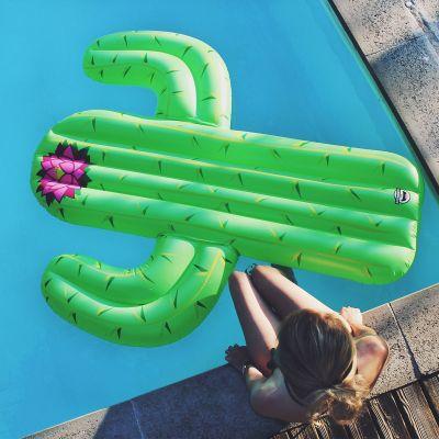 Gadgets d'été - Matelas gonflable Cactus