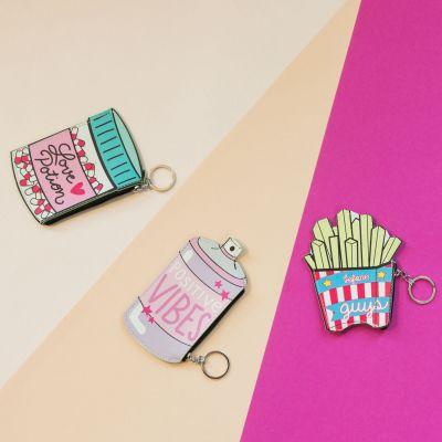 Idée cadeau femme - Bourses Drôles en guise de Porte-clés