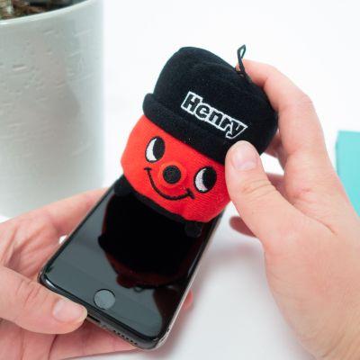 Idées cadeaux pour mettre dans le calendrier de l'avent - Henry, le nettoyeur d'écran en microfibre
