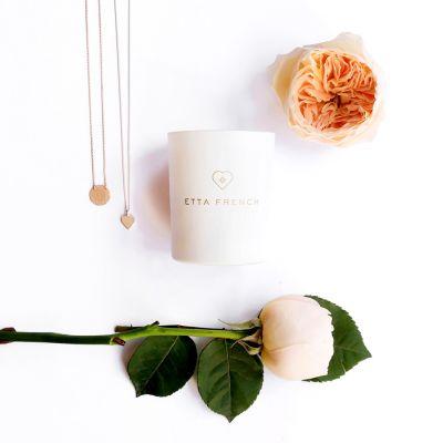 Cadeau crémaillère - Bougies parfumées avec des bijoux