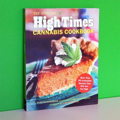 Cadeaux de Noël pour femme - High Times - Livre de cuisine pour le Cannabis