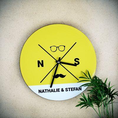 Réveils & Montres - Horloge Hipster Personnalisable