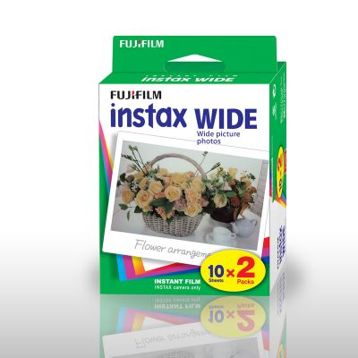 SOLDES - Papier Photo Fuji Instax WIDE - Set de 2