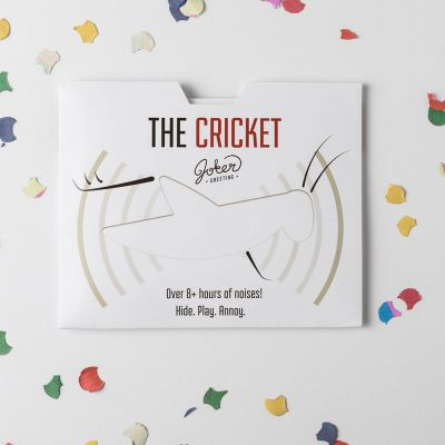 Nouveau - Carte piégée The Cricket