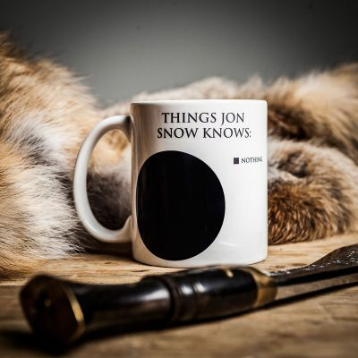 Films & Télévision  - Tasse Jon Snow