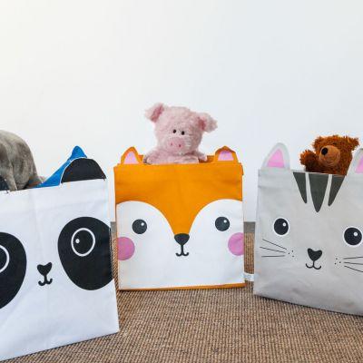 Idées cadeaux pour mettre dans le calendrier de l'avent - Panier de rangement Animaux