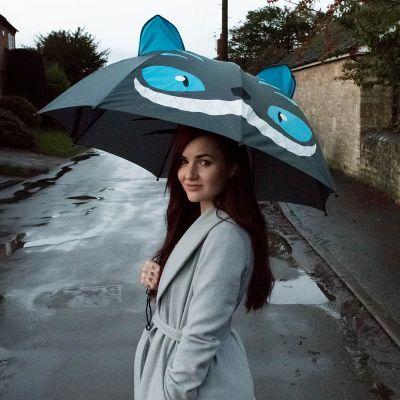 Cadeau d'adieu - Parapluie Chat