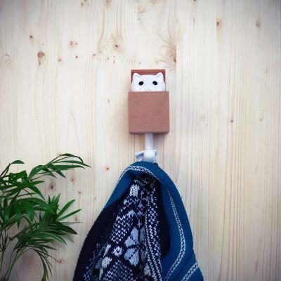 Décoration & Mobilier - Crochet à vêtements - Chat