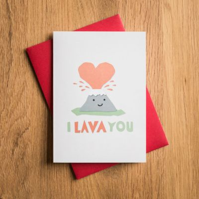 Cartes - Carte de Saint Valentin – I Lava You