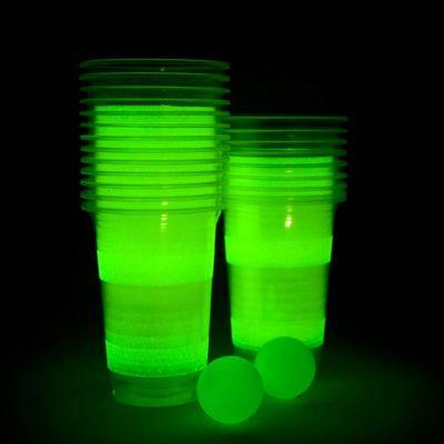 Gadgets pour festivals - Bière-Pong lumineux
