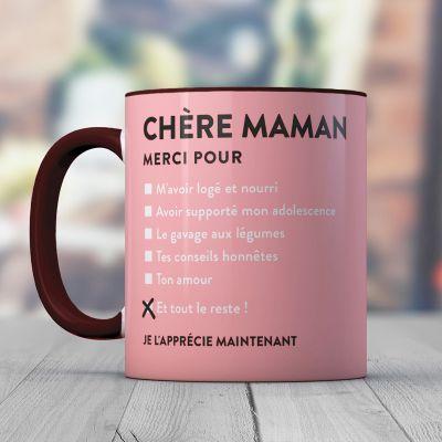 Verres & Mugs - Tasse Chère Maman
