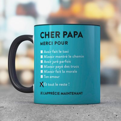 Cadeau 50 ans - Tasse Cher Papa