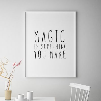 Poster - Magic Poster par MottosPrint