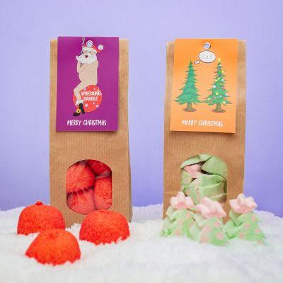 Idées cadeaux pour mettre dans le calendrier de l'avent - Marshmallows de Noël