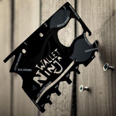 Gadgets pour festivals - Carte Ninja 18 outils en 1