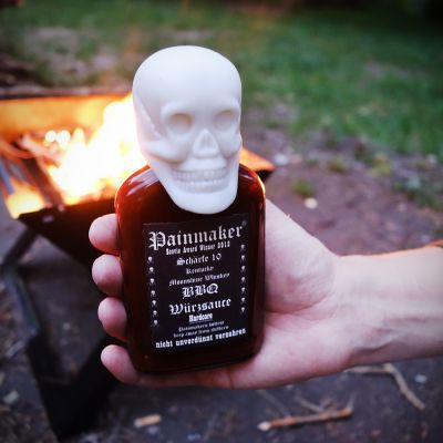 Cuisine explosive - Sauce BBQ Painmaker Hardcore