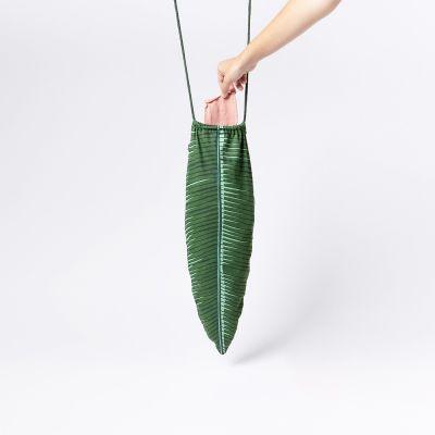 Idées cadeaux pour mettre dans le calendrier de l'avent - Sac à Linge Sale Tropical - Feuille de Palmier