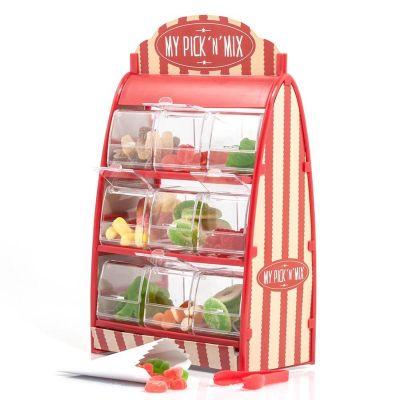 Cadeau pour la Saint Valentin - Stands bonbons remplis Pick'n Mix