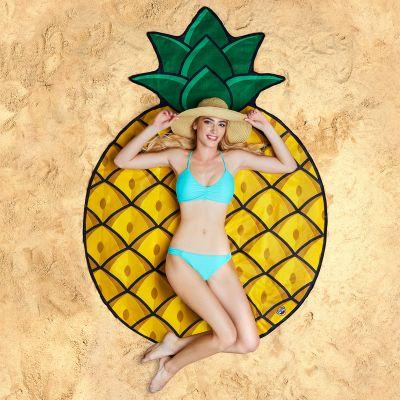 Cadeau crémaillère - Serviette de plage Ananas
