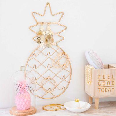 Cadeau pour la Saint Valentin - Porte-bijoux Ananas