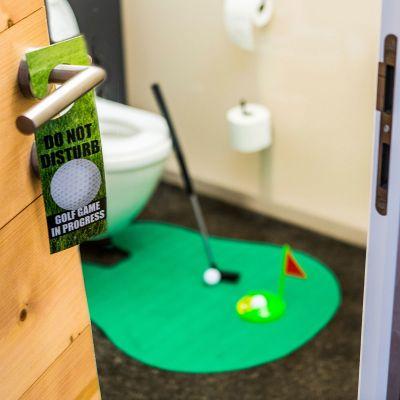 Jeux & Farces - Set de golf ultime pour les toilettes